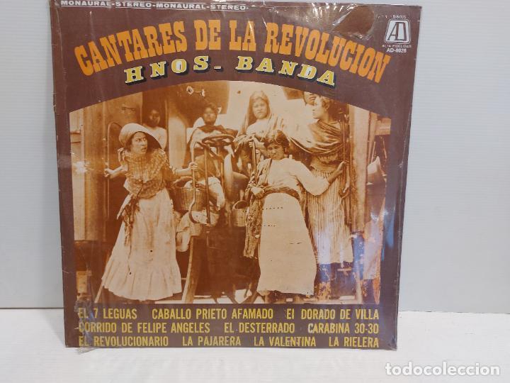 HERMANOS BANDA / CANTARES DE LA REVOLUCIÓN / LP - AD-1973-MEXICO / P R E C I N T A D O. ***** (Música - Discos - LP Vinilo - Grupos y Solistas de latinoamérica)