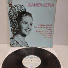 Discos de vinilo: JUANITA REINA / MISMO TÍTULO / LP - REGAL-SERIE AZUL-1972 / MBC. ***/***. Lote 273495208