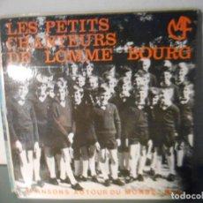 Discos de vinilo: LES PETITS CHANTEURS DE LOMME BOURG - CHANSONS AUTOUR DU MONDE Nº 2. Lote 273500183