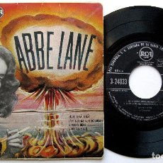 Discos de vinilo: ABBE LANE Y ORQUESTA - QUE SERÁ SERÁ - EP RCA 1958 BPY. Lote 273517513