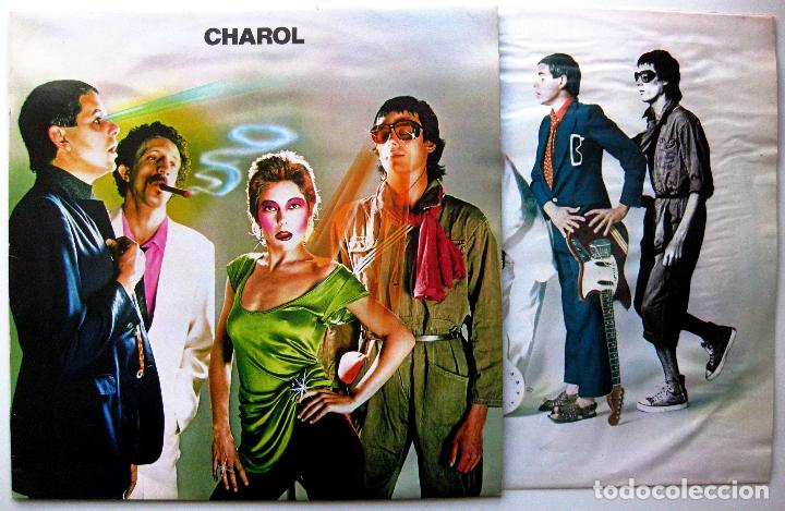 CHAROL - CHAROL - LP MOVIEPLAY 1980 BPY (Música - Discos - LP Vinilo - Grupos Españoles de los 70 y 80)