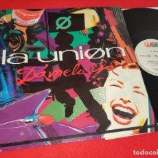 Discos de vinilo: LA UNION DAMELO YA (REMIX) +2 12'' MX 1991 WEA MOVIDA POP. Lote 273524913