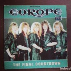 Discos de vinilo: JMFC - DISCO MAXI SINGLE VINILO - EUROPE - THE FINAL COUNTDOWN. Lote 273600243
