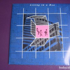 Dischi in vinile: LIVING IN A BOX – LIVING IN A BOX - SG CHRYSALIS 1987 PROMO - ELECTRONICA GARAGE HOUSE. Lote 273602898