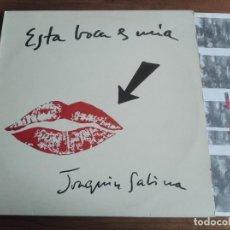Discos de vinilo: JOAQUÍN SABINA – ESTA BOCA ES MIA*** LP ESPAÑOL 1994 ** GRAN ESTADO ***. Lote 273717543