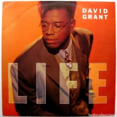 Discos de vinilo: DAVID GRANT - LIFE - MAXI 4TH & BROADWAY 1989 UK BPY. Lote 273719083