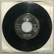 Discos de vinilo: LEROY VAN DYKE. A BROKEN PROMISE/ I SAT BACK AND LET IT HAPPEN. MERCURY, UK 1962 SINGLE. Lote 273769058