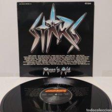 Discos de vinilo: HEAR 'N AID - STARS 1986 ED ALEMANA. Lote 273773843