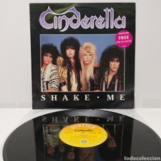 Discos de vinilo: CINDERELLA - SHAKE ME 1986 ED UK. Lote 273773858