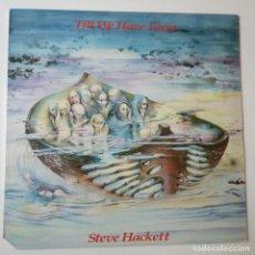 Disques de vinyle: STEVE HACKETT- TILL WE HAVE FACES- USA LP 1984- GENESIS - VINILO COMO NUEVO.. Lote 273930378
