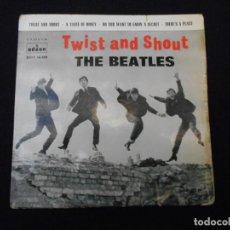 Discos de vinilo: THE BEATLES // TWIST ANDA SHOUT + 3. Lote 273937693