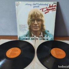 Disques de vinyle: JOHN DENVER - SEINE GROSSEN ERFOLGE. Lote 273940348