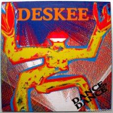 Discos de vinilo: DESKEE - DANCE, DANCE - MAXI BLACK OUT 1990 GERMANY BPY. Lote 273981323