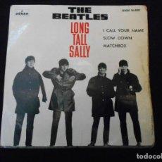 Discos de vinilo: THE BEATLES // LONG TALL SALLY. Lote 274001518