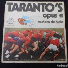 Discos de vinilo: TARANTO´S // OPUS - MUÑECO DE HIELO. Lote 274003093