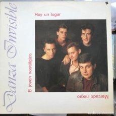 """Discos de vinilo: DANZA INVISIBLE - HAY UN LUGAR - 12"""" MAXISINGLE TWINS 1987. Lote 274004848"""