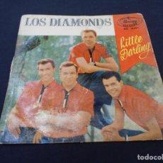 Discos de vinilo: LOS DIAMONDS // LITTLE DARLING. Lote 274005933