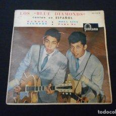 Discos de vinilo: LOS BLUE DIAMONDS // RAMONA + 3. Lote 274006198