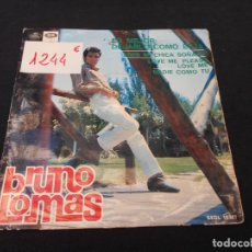 Discos de vinilo: BRUNO LOMAS // ES MEJOR DEJARLO COMO ESTA + 3. Lote 274009313