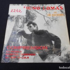 Discos de vinilo: BRUNO LOMAS CON LOS ROCHEROS // COMPRENSION + 3. Lote 274009683