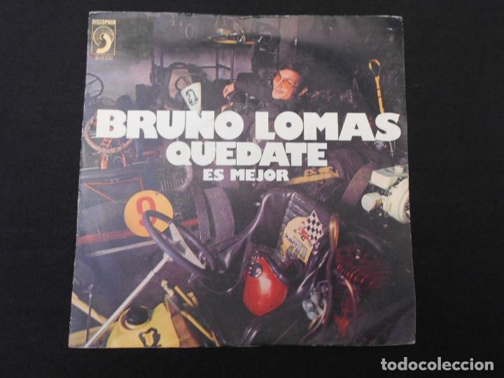 BRUNO LOMAS // QUEDATE - ESMEJOR (Música - Discos - Singles Vinilo - Solistas Españoles de los 50 y 60)