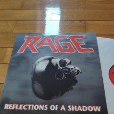 Discos de vinil: LP DE VINILO DEL GRUPO RAGE REFLECTIONS OF A SHADOW. Lote 274120173