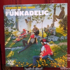 Discos de vinilo: FUNKADELIC–STANDING ON THE VERGE - THE BEST OF . DOBLE LP VINILO PRECINTADO. FUNK. Lote 274179233