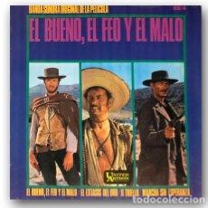 Dischi in vinile: OST - EL BUENO, EL FEO Y EL MALO. Lote 274185078