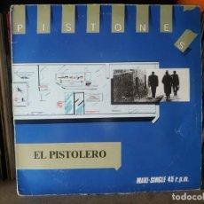 Discos de vinilo: PISTONES. EL PISTOLERO / METADONA MR. Lote 274188083