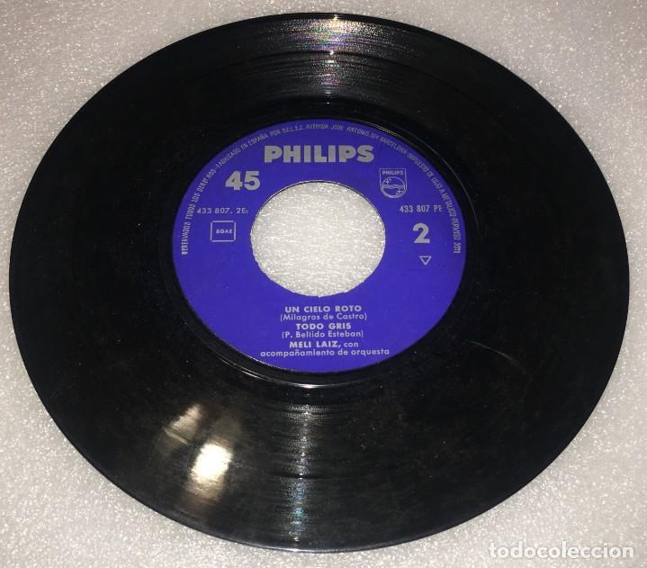 Discos de vinilo: EP MELI LAIZ PRIMER CERTAMEN CANCION EN MADRID- ABREME Y OTROS TEMAS - PHILIPS -PEDIDO MINIMO 7€ - Foto 3 - 274191918
