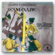 Discos de vinilo: LE CHANT DU MONDE - CHANTES POPULARES DE SCANDINAVIE. Lote 274194128