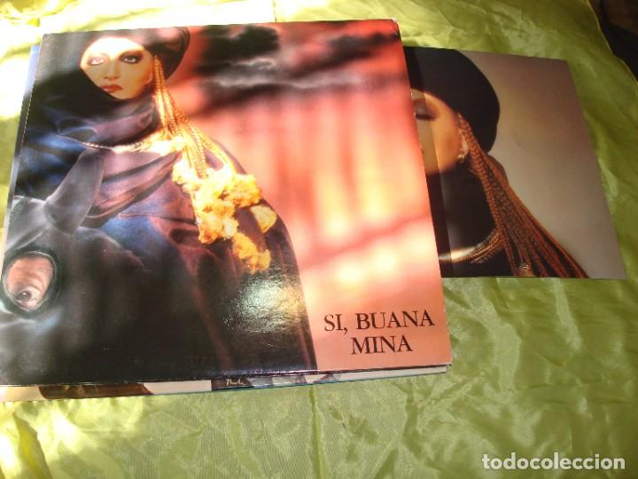 MINA. SI, BUANA. PDU, 1986. 2 LP´S. EDC. ITALIANA. TRAE FOTO (#) (Música - Discos - LP Vinilo - Canción Francesa e Italiana)