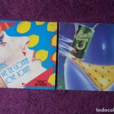 Discos de vinilo: LIME – LIME 3 ,VINYL LP + MAXI-SINGLE 1983 SPAIN 813 066-1. Lote 274249803
