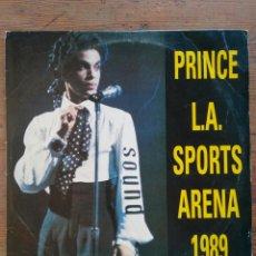 Discos de vinilo: PRINCE - L.A SPORTS ARENA 1989 MUY RARO. Lote 274250303