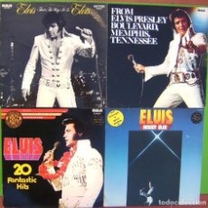 Discos de vinilo: LOTE 4 LPS ELVIS PRESLEY (FROM BOULEVARD MEMPHIS T, MOODY BLUE, THAT'S THE WAY IT IS, 20 FANTASTIC H. Lote 274261893