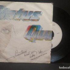 Discos de vinilo: STATUS QUO - SOMETHING 'BOUT YOU BABY I LIKE - SINGLE SPAIN 1980 PEPETO. Lote 274272063