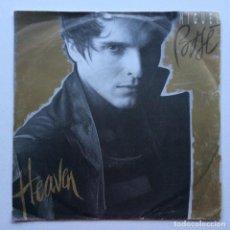 Discos de vinilo: MIGUEL BOSÉ – HEAVEN / TOWN OF GOLD GERMANY,1986 WEA. Lote 274309903