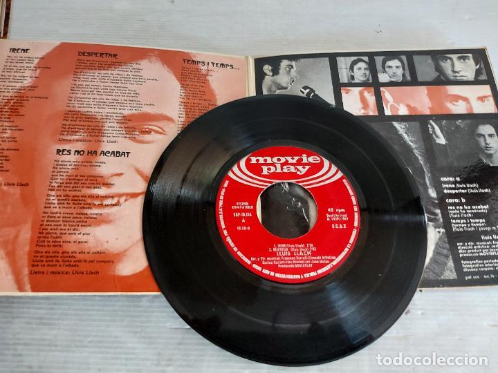 Discos de vinilo: LLUÍS LLACH / IRENE +3 / EP-GATEFOLD - MOVIE PLAY-1969 / MBC. ***/*** - Foto 2 - 274326678