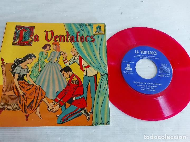 LA VENTAFOCS / DISCO-CUENTO - EP-ODEON-1959 / MUY BUENA CALIDAD. ***/*** (Música - Discos - Singles Vinilo - Cantautores Españoles)