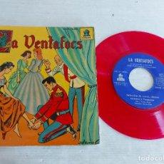 Discos de vinilo: LA VENTAFOCS / DISCO-CUENTO - EP-ODEON-1959 / MUY BUENA CALIDAD. ***/***. Lote 274330003