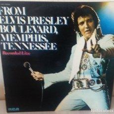 Dischi in vinile: ELVIS PRESLEY - BOULEVARD, MEMPHIS, TENNESSEE R C A - 1976. Lote 274336948