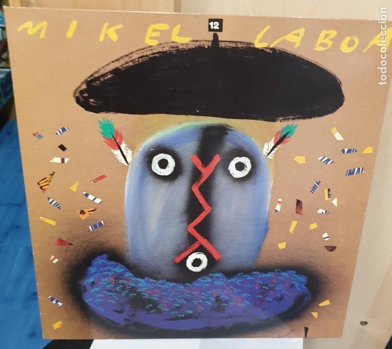 LP MIKEL LABOA 12 AÑO ELKAR 1989 (Música - Discos de Vinilo - Maxi Singles - Country y Folk)