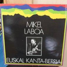 Discos de vinilo: LP VINILO MIKEL LABOA EUSKAL KANTA-BERRIA ELKAR AÑO 1987. Lote 274343383