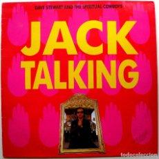 Discos de vinilo: DAVE STEWART AND THE SPIRITUAL COWBOYS - JACK TALKING - MAXI RCA 1990 BPY. Lote 274344698