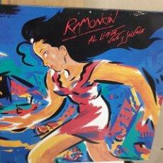 Discos de vinilo: LP VINILO RAMONCÍN AL LÍMITE VIVO Y SALVAJE 2 DISCOS BMG AÑO 1990. Lote 274345208