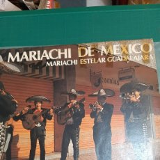 Discos de vinilo: LP MARIACHI DE MEXICO ESTELAR GUADALAJARA ARIOLA DISCOS COLISEVM COLECCIONISMO ANTIGÜEDADES. Lote 274351393