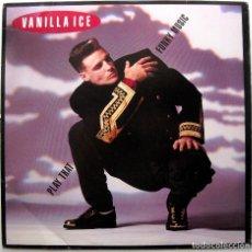 Discos de vinilo: VANILLA ICE - PLAY THAT FUNKY MUSIC - MAXI SBK RECORDS 1990 USA BPY. Lote 274367598