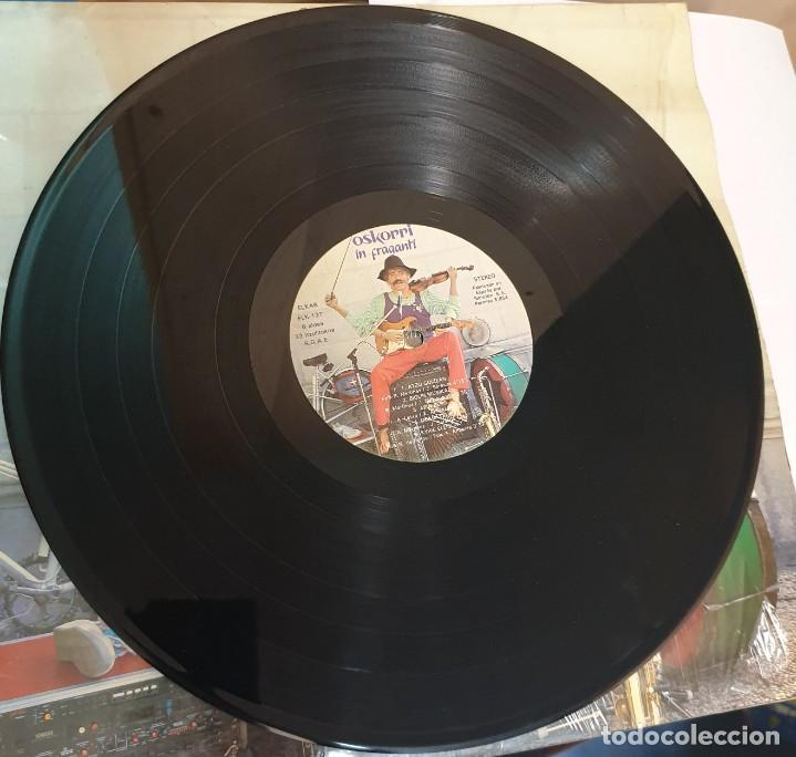 Discos de vinilo: LP VINILO OSKORRI IN FRAGANTI ELKAR AÑO 1986 - Foto 2 - 274374973