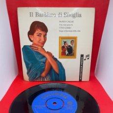 Discos de vinilo: MARÍA CALLAS - IL BARBIERE DI SIVIGLIA COLUMBIA. EDICIÓN DANESA. Lote 274377583