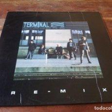 Discos de vinilo: TERMINAL SUR - VIAJERO REMIX, DE MAÑANA - MAXISINGLE ORIGINAL PDI 1989. Lote 274385223
